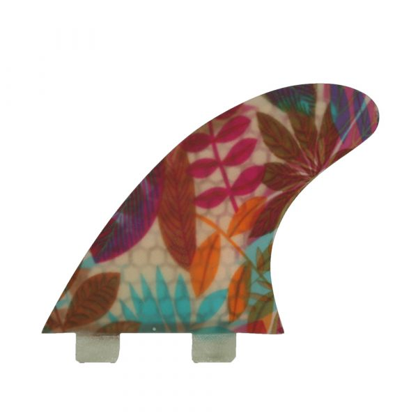 Surf Garage Fin 2 FCS floral